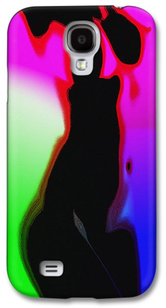 Female In Color 2 Galaxy S4 Case by Steve K