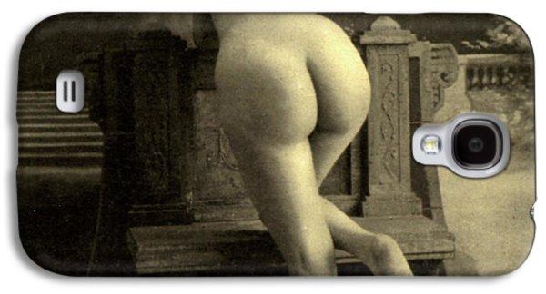 Female Nude, Circa 1900 Galaxy S4 Case by French School