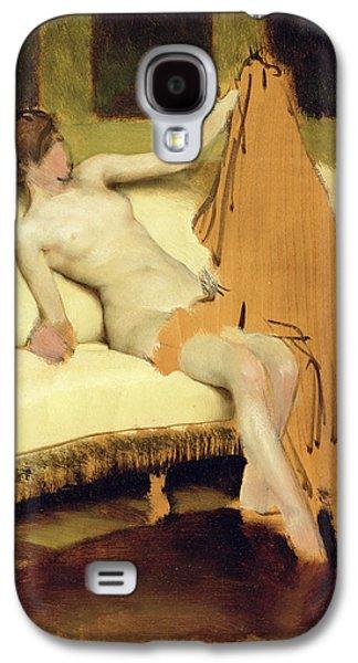 Female Nude Galaxy S4 Case by Sir Lawrence Alma-Tadema