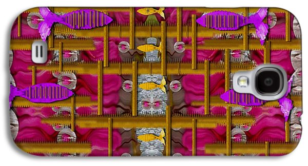 Fences Around Love In Oriental Style Galaxy S4 Case by Pepita Selles