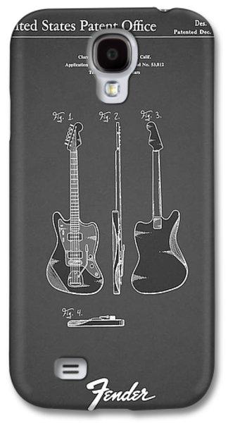 Guitar Galaxy S4 Case - Fender Electric Guitar 1959 by Mark Rogan