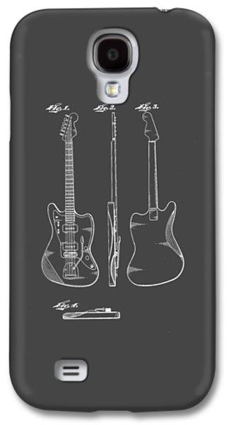 Fender Guitar Drawing Tee Galaxy S4 Case