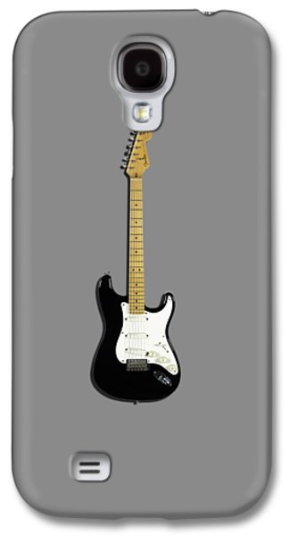 Fender Stratocaster Blackie 77 Galaxy S4 Case by Mark Rogan