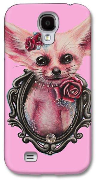 Fennec Fox Galaxy S4 Case by Sheena Pike