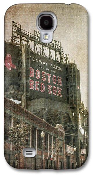 Fenway Park Billboard - Boston Red Sox Galaxy S4 Case by Joann Vitali