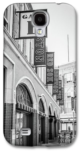 Fenway Park Gate E Entrance Black And White Photo Galaxy S4 Case by Paul Velgos
