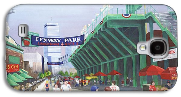 Fenway Park Galaxy S4 Case by Lynn Ricci