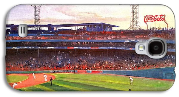 Fenway Park Galaxy S4 Case by Rose Wang