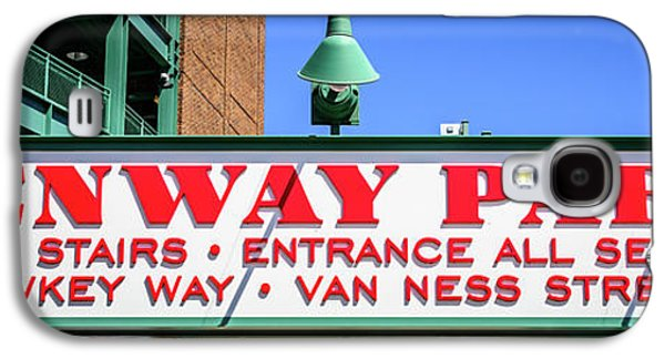 Fenway Park Sign Gate D Entrance Panorama Photo Galaxy S4 Case by Paul Velgos