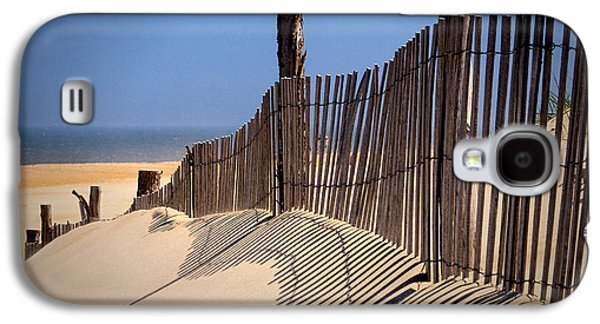Fenwick Dune Fence And Shadows Galaxy S4 Case
