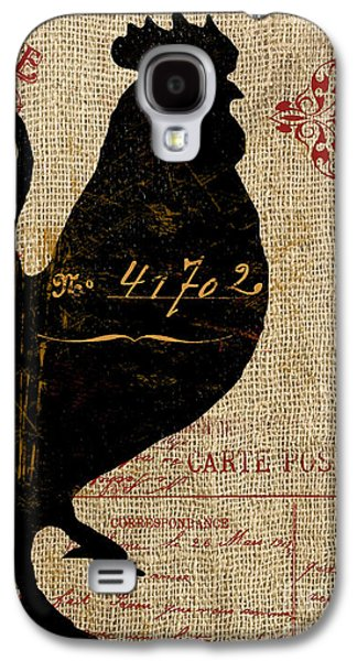 Ferme Farm Rooster Galaxy S4 Case by Mindy Sommers