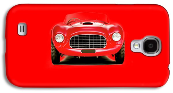 Vintage Car Photographs Galaxy S4 Cases - Ferrari 166 Galaxy S4 Case by Mark Rogan