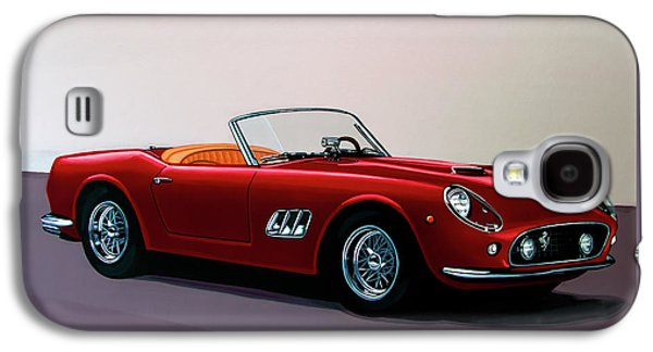 Ferrari 250 Gt California Spyder 1957 Painting Galaxy S4 Case by Paul Meijering