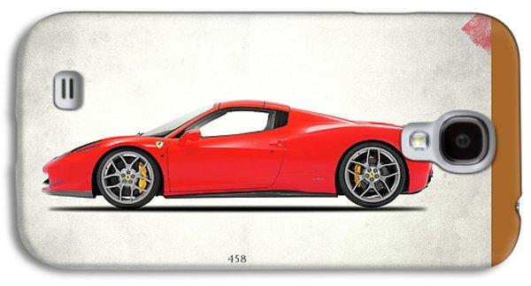 Ferrari 458 Italia Galaxy S4 Case by Mark Rogan