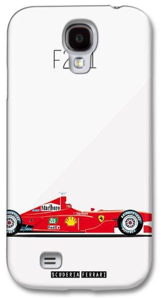 Ferrari F2001 F1 Poster Galaxy S4 Case