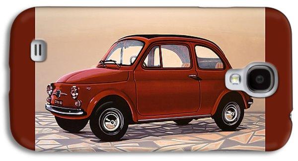 Beetle Galaxy S4 Case - Fiat 500 1957 Painting by Paul Meijering