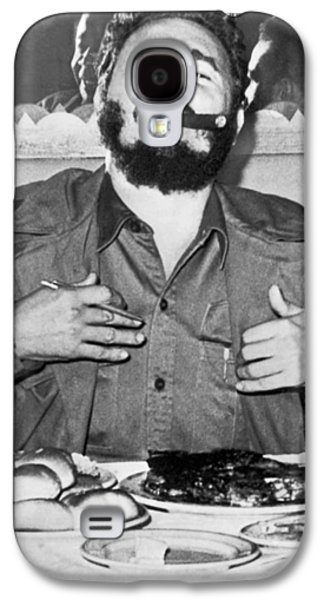 Fidel Castro In New York Galaxy S4 Case by Underwood Archives