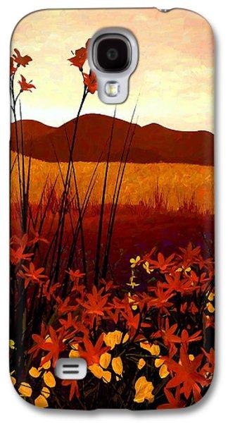 Field Of Flowers Galaxy S4 Case