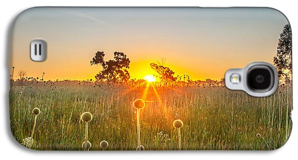 Fields Of Gold Panorama Galaxy S4 Case by Az Jackson