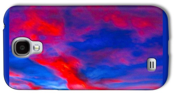 Fiery Dragon Floating Galaxy S4 Case