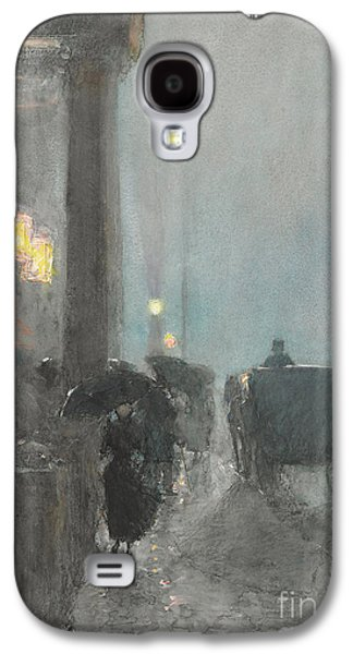 Fifth Avenue, Evening Galaxy S4 Case by Childe Hassam