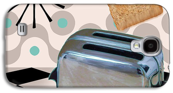 Fifties Kitchen Toaster Galaxy S4 Case by Mindy Sommers