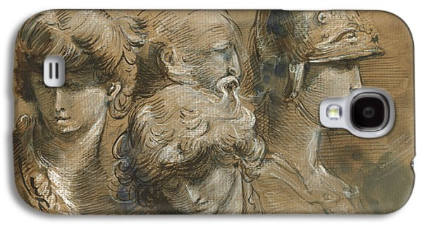 Figures Drawing Galaxy S4 Case by Juan Bosco