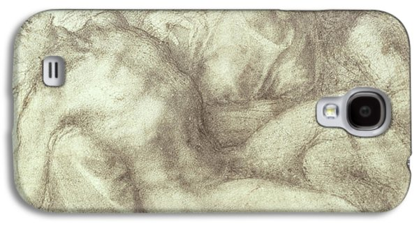 Figures Study For The Lamentation Over The Dead Christ, 1530 Galaxy S4 Case by Michelangelo