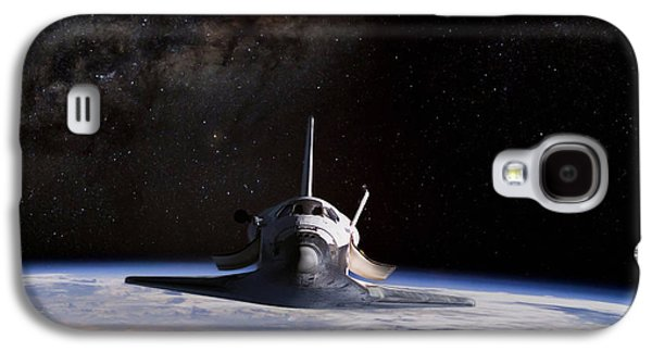 Final Frontier Galaxy S4 Case by Peter Chilelli