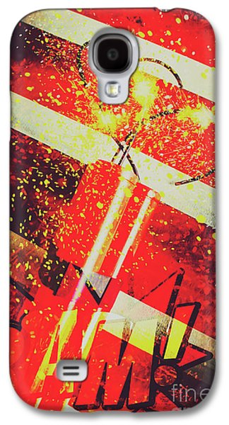 Financial Meltdown Coming Soon Galaxy S4 Case by Jorgo Photography - Wall Art Gallery