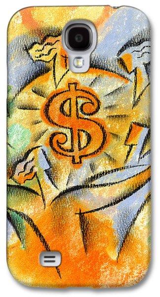 Financial Success Galaxy S4 Case by Leon Zernitsky