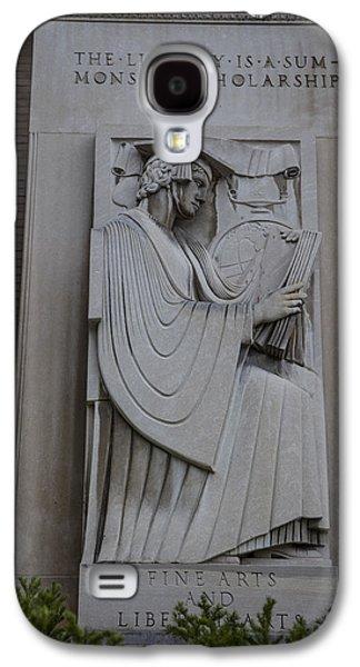 Fine Art Library Penn State  Galaxy S4 Case by John McGraw