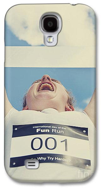 Finish Line Frontrunner Galaxy S4 Case by Jorgo Photography - Wall Art Gallery