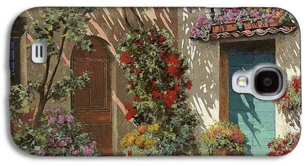 Fiori In Cortile Galaxy S4 Case by Guido Borelli