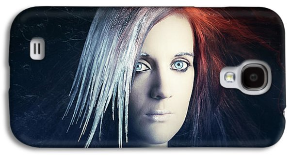 Fire And Ice Portrait Galaxy S4 Case