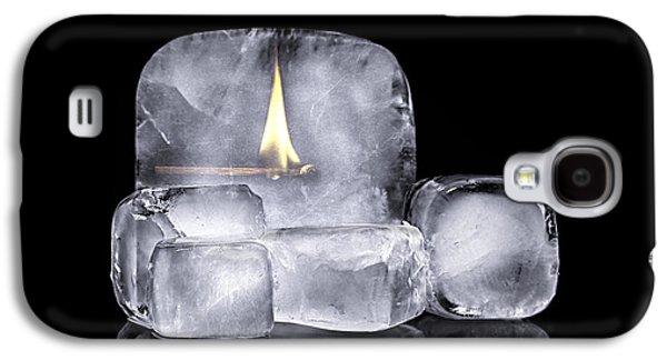 Fire And Ice Galaxy S4 Case by Tom Mc Nemar
