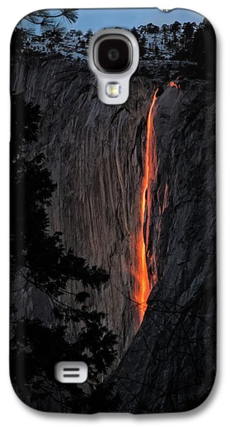 Fire Fall Galaxy S4 Case by Edgars Erglis