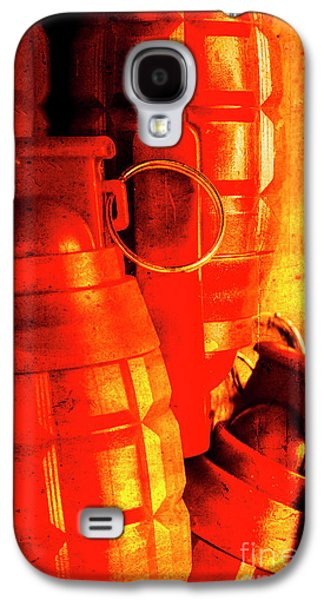 Fire In The Hole Galaxy S4 Case