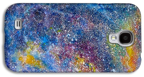 Fire Nebula #4 Galaxy S4 Case by Adrienne Martino