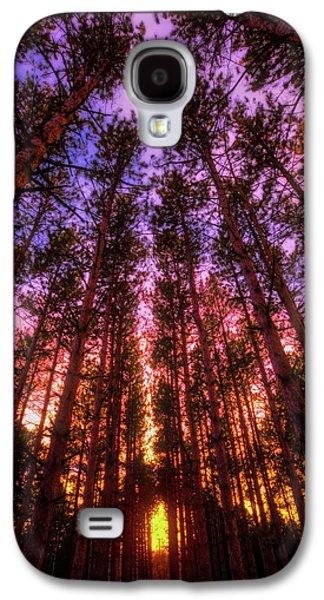 Fire Sky - Sunset At Retzer Nature Center - Waukesha Wisconsin Galaxy S4 Case