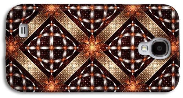 Fireflies - Pattern - Fractal Galaxy S4 Case by Anastasiya Malakhova
