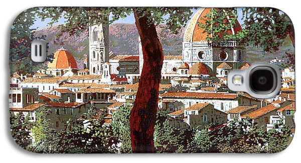 Guido Galaxy S4 Cases - Firenze Galaxy S4 Case by Guido Borelli