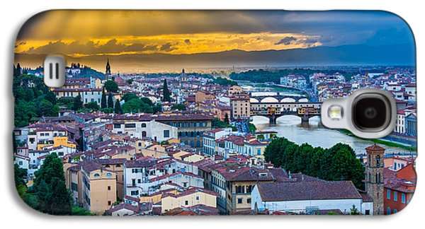 Firenze Sunset Galaxy S4 Case