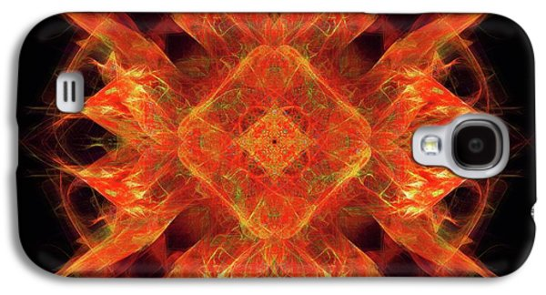 Fires Of Perseverance  Galaxy S4 Case by Elizabeth McTaggart