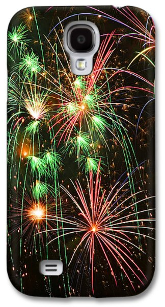 Fireworks 4th Of July Galaxy S4 Case by Garry Gay