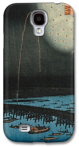 Fireworks At Ryogoku Galaxy S4 Case