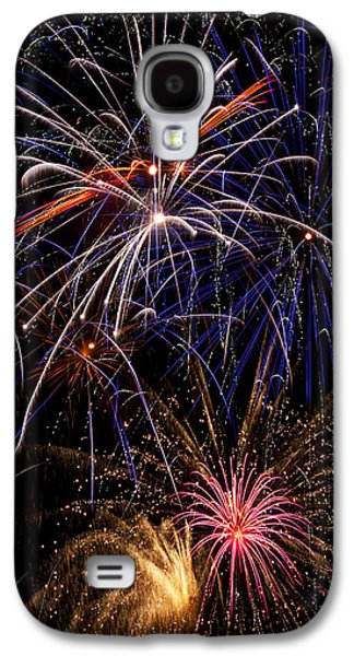 Fireworks Celebration  Galaxy S4 Case by Garry Gay