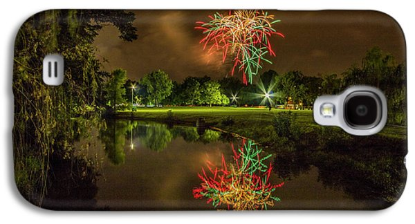 Fireworks During Fair St Louis In Forest Park Galaxy S4 Case