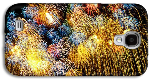 Fireworks Exploding  Galaxy S4 Case