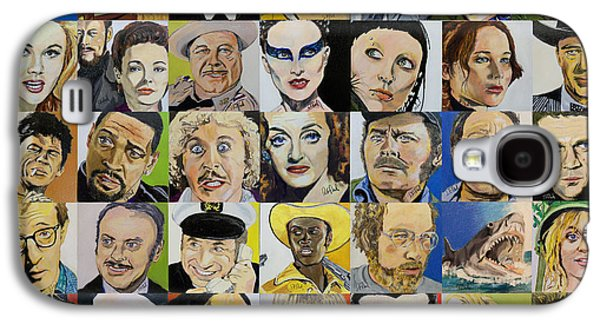 Robert Smith Music Galaxy S4 Case - First 49 Squares by Steve Teets